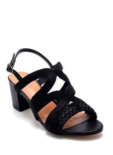 Derimod Kadın Sandalet (Zs3047-Y53) Casual Siyah